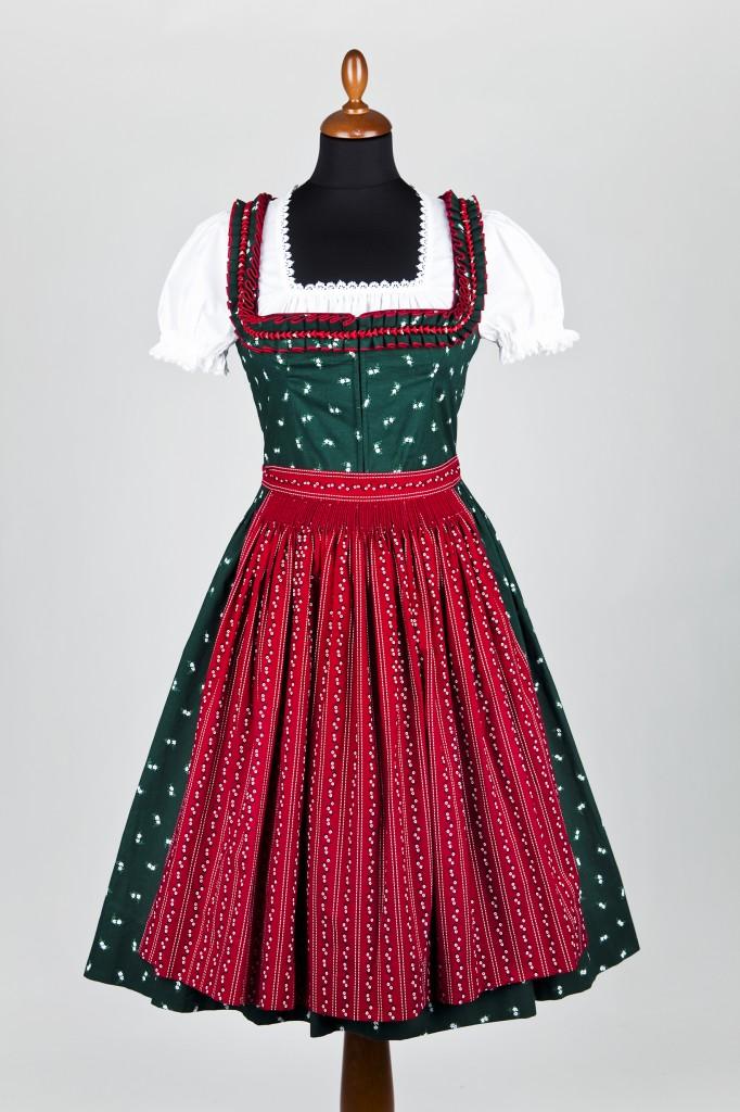Lena Hoschek - Traminer Dirndl, rote Schürze
