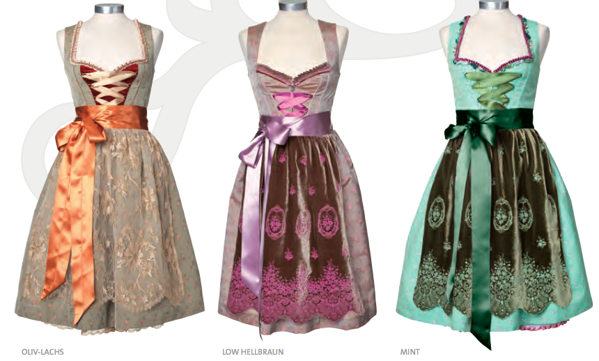 Exklusive Dirndl des Starnberger Labels Re-Kitz