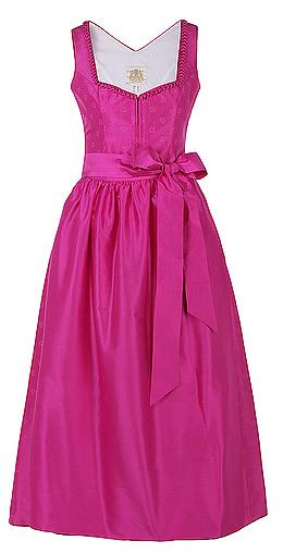 Lodenfrey Dirndl Pink