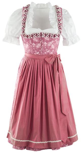 Baumwolldirndl rosa, Froschgoscherl