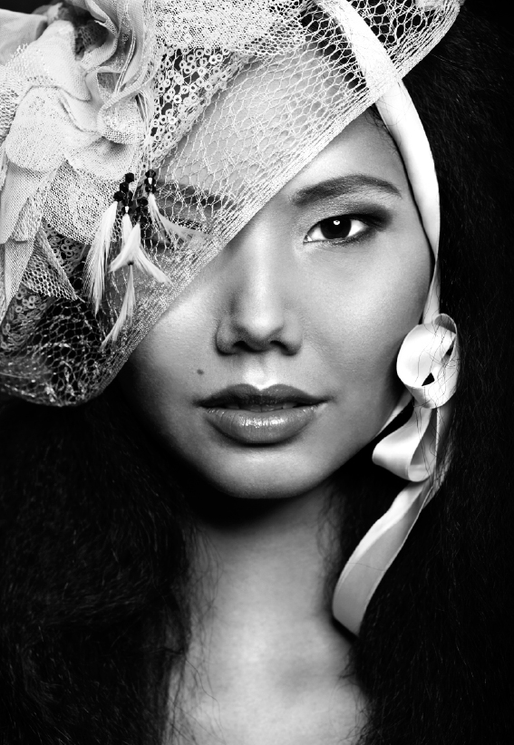 Kopfbedeckung zum Dirndl - Aufgebrezelt