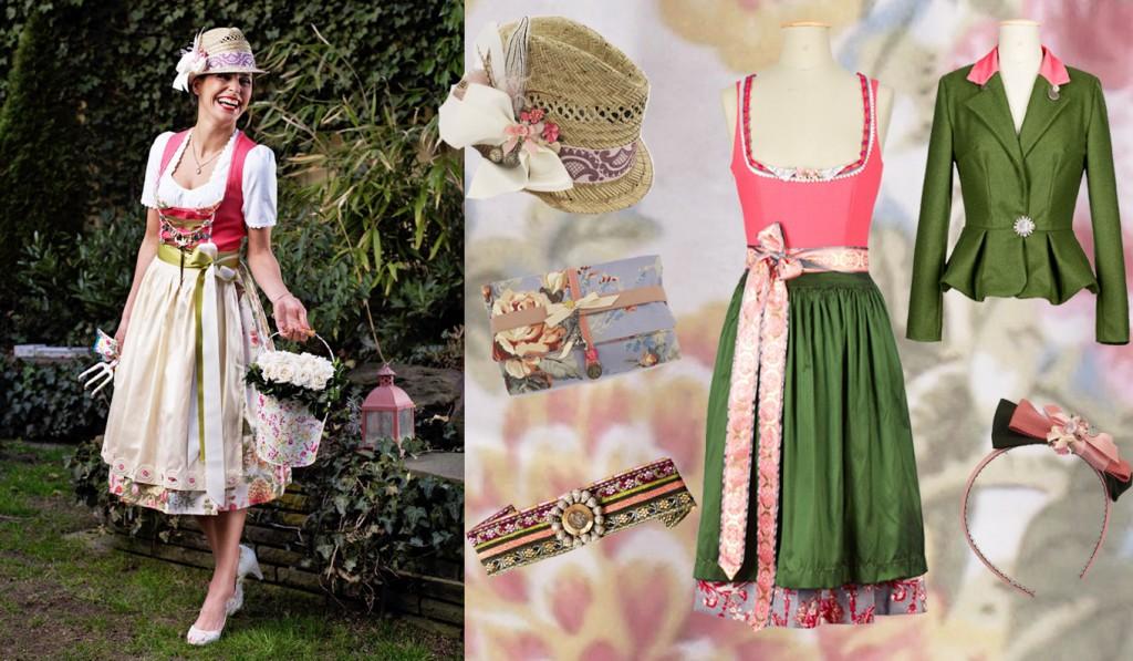Dirndl rosa - Amsel Fashion Tracht