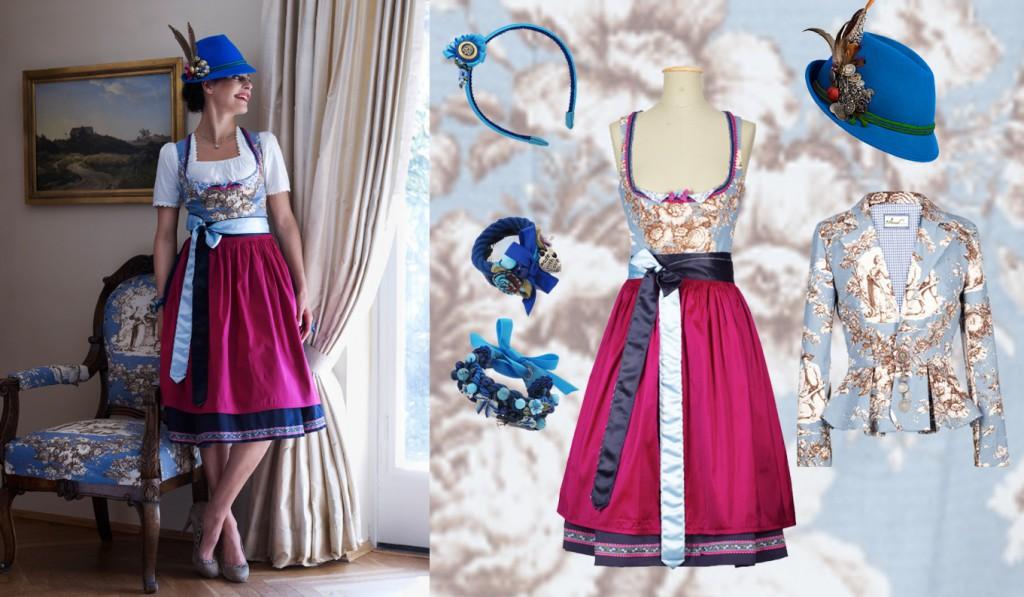 Festliches Dirndl von Amsel Fashion