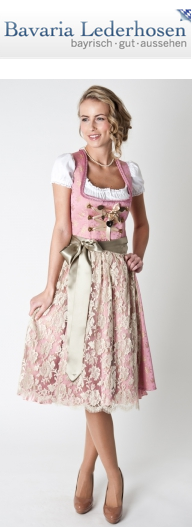 Dirndl aus Bayern - Trachten