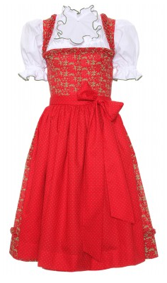 Lanz Dirndl rot