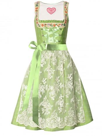 Dirndl Peridotgrün, Dirndlschürze creme, Dirndl Kollektion 2013 von LIMBERRY